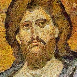 Dragica  Micki Fortuna - Christ Pantocrator From Monreale