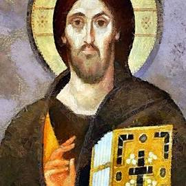 Dragica  Micki Fortuna - Christ Pantocrator of Sinai