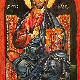 Ryszard Sleczka - Christ The Pantocrator Icon III