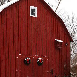Christmas Barn 6 by Linda Shafer