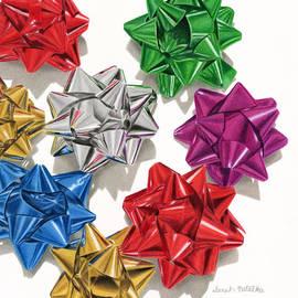 Christmas Bows And Shadows by Sarah Batalka