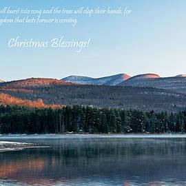Christmas Card Glorious Catskill Morning by Nancy De Flon