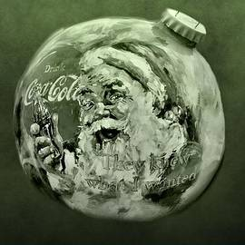 Christmas Coca Cola by Dan Sproul