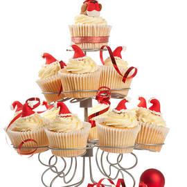 Amanda Elwell - Christmas Cupcakes On Stand