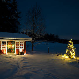Christmas night by Torbjorn Swenelius