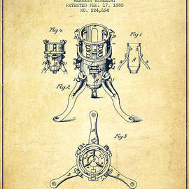 Christmas Tree Holder Patent from 1880 - Vintage by Aged Pixel