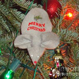 Christmas Tree Mouse by Joseph Baril