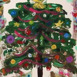 Mary Carol Williams - Christmas Tree on Graffiti