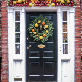 Christmas Wreath by William Krumpelman