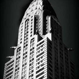 Miriam Danar - Chrysler Stark in Black and White - Famous Buildings and Landmarks of New York City