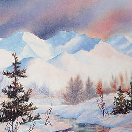 Chugach Winter by Teresa Ascone