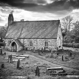 Ralf Kaiser - church and cemetery near Llyn Tegid