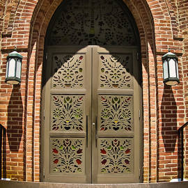 Church Doors by Colleen Kammerer