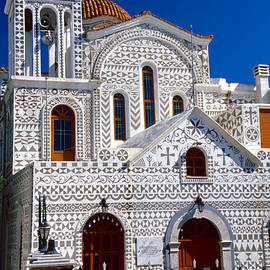 Aiolos Greek Collections - Church of geometric pattern
