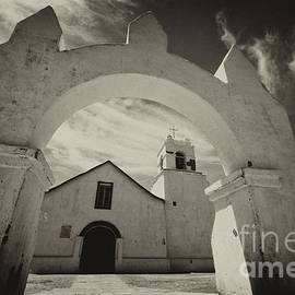 Church San Pedro De Atacama Chile by Bob Christopher