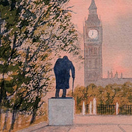 Bill Holkham - Churchill and Big Ben