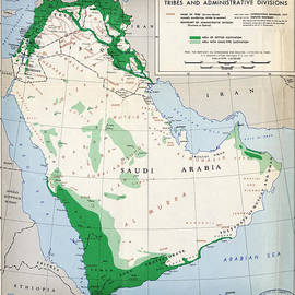 MotionAge Designs - CIA Map of Arab States 1947