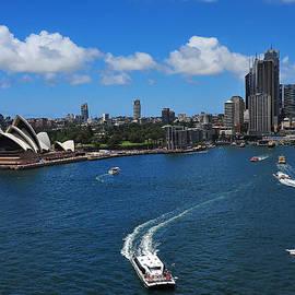 Circular Quay Sydney by Harry Spitz