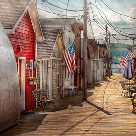 Mike Savad - City - Canandaigua NY - Shanty town