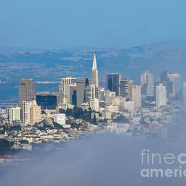 City in Fog by Stephen Whalen