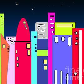 Beverley Brown - City in Space