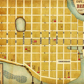 MotionAge Designs - City Plan of Beaufort South Carolina 1860