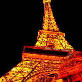City - Vegas - Paris - Eiffel Tower Restaurant by Mike Savad
