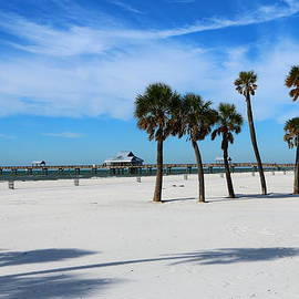 Christiane Schulze Art And Photography - Clearwater Pier And Beach