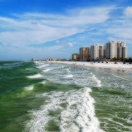 Clearwater Sea View by Sandra Selle Rodriguez