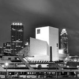 Frozen in Time Fine Art Photography - Cleveland Lakefront Panoramic