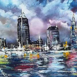 Cleveland Thunderstorm by Alfred Stringer