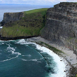 Cliffs of Moher View by Aidan Moran
