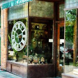 Cold Springs NY - Clock Shop by Susan Savad