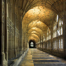Colin Woods - Cloisters of Gloucester Cathedral
