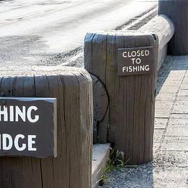 Closed to Fishing by Nicholas Blackwell