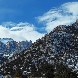 Closed To Through Traffic  - Mount Whitney by Glenn McCarthy