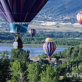 Closeup Balloons by Steve Krull