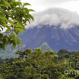Clouds and Arenal Volcano by Bob Phillips