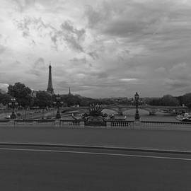 Clouds over Eiffel Tower by Maj Seda