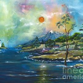 Coastal Landscape - Sunrise - Sunset by M E Wood
