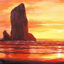 Graham Gercken - Coastal Sunset