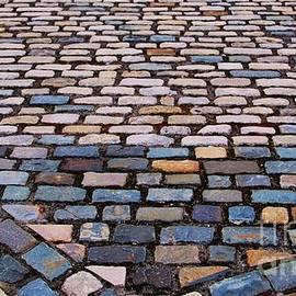 Cobblestones Caught In Dublin by Marcus Dagan