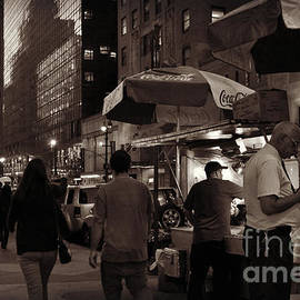 Miriam Danar - Coca - Cola - New York City at Night