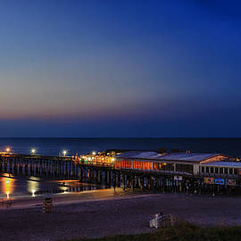 Cocoa Beach Pier - Early Morning by Frank J Benz