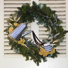 Sally Weigand - Coffee Wreath
