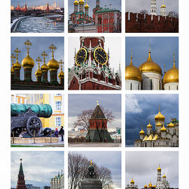 Alexander Senin - Collage Moscow Kremlin 1 - Featured 3