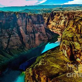 Colorado River Grand Canyon by Bob and Nadine Johnston