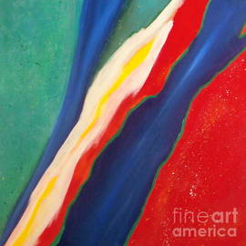 Karyn Robinson - Colorful Abstract Art - Torn