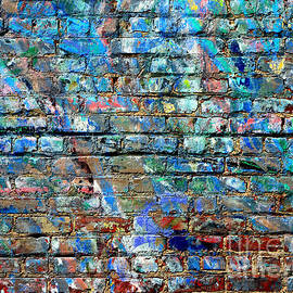 Colorful Bricks by Robert Riordan