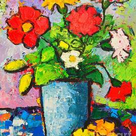 Ana Maria Edulescu - Colorful Flowers From My Garden